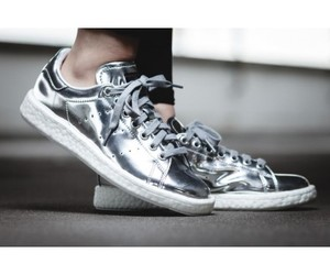 silver stan smith image