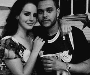 lana del rey, the weeknd, and theweeknd image