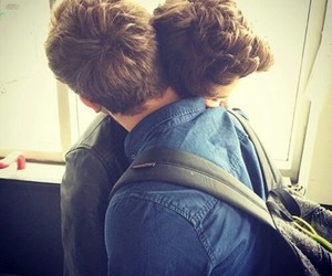 couple, gay, and homosexual image