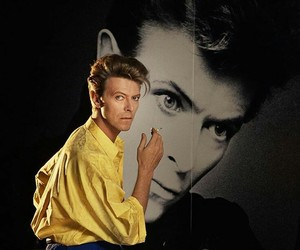 david bowie, fashion, and glam image
