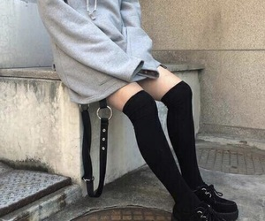aesthetic, goth, and fashion image