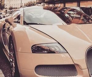 bugatti, gold, and luxury car image