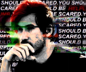 dark, edit, and markiplier image