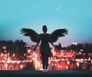angel, lights, and fantasy image
