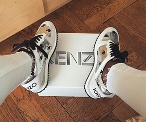 Kenzo, shoes, and sneakers image