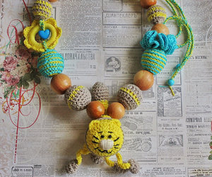 breastfeeding, yellow cat, and mommy necklace image