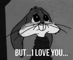 love and bunny image
