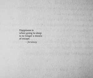 quotes, happiness, and sleep image