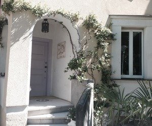 house, white, and home image
