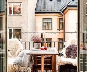 balcony, home, and house image