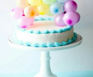 balloons, icing, and yummy image