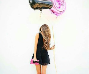 girl, birthday, and style image