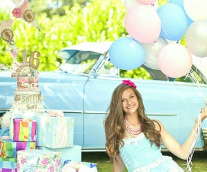 balloons, party, and presents image