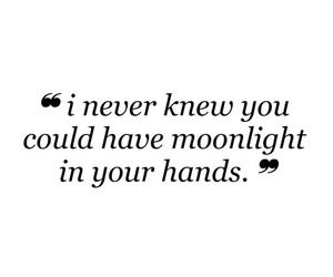 Lyrics, ariana grande, and moonlight image
