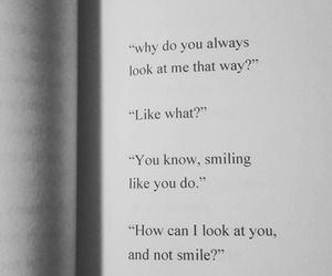 quote, smile, and tumblr image