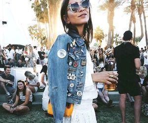 blogger, fashion, and coachella image