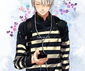 anime, yuri on ice, and viktor image