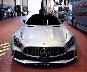 car, mercedes benz, and amg image