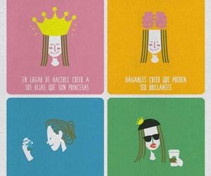 princesas, princess, and brillantes image