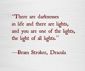 book, Dracula, and qoute image