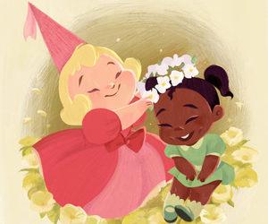 disney, princess, and background image