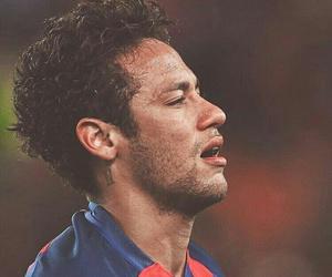 crying, football, and fc barcelona image