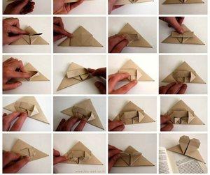 diy, valentine fold, and libros image