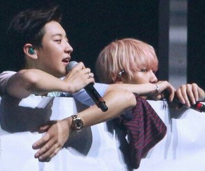 exo, baekyeol, and chanbaek image