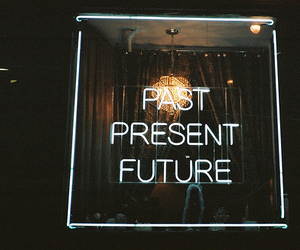 past, future, and present image