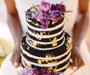 cake, chocolate, and colors image