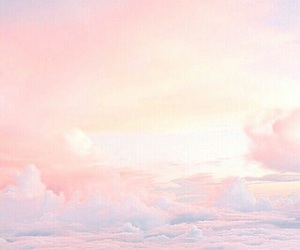 clouds, cotton candy, and wallpaper image