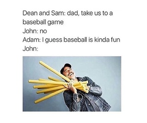 dean winchester, funny, and meme image