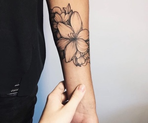 flower and tattos image