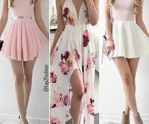 girls, clothes, and pink image
