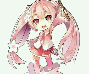 chibi, hatsune miku, and vocaloid image