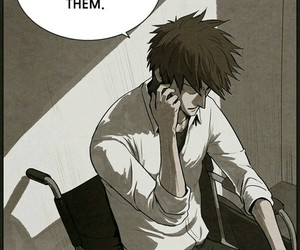 bastard, manhwa, and webtoon image