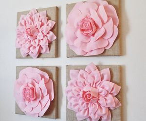 decoration, shabby chic decor, and rustic wall art image