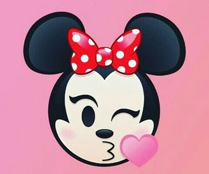 minnie, kiss, and wallpaper image