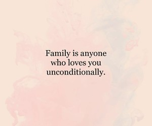 family, goals, and quote image