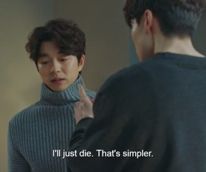 goblin, kdrama, and quotes image