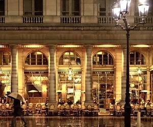 beautiful, paris, and cafe image