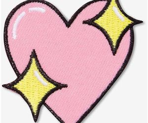 heart, patches, and emoji image
