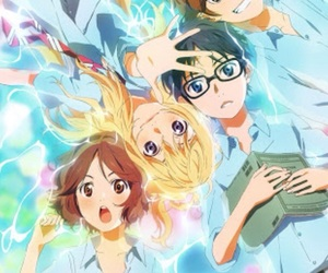 your lie in april and shigatsu wa kimi no uso image