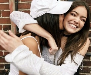 girl, best friends, and friendship image