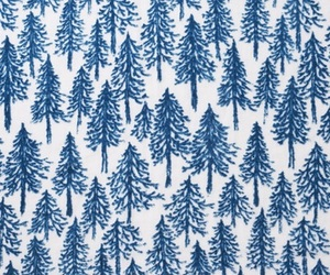 tree, blue, and art image