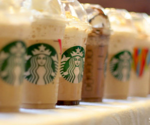 classy, cozy, and frappuccino image