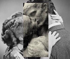 kiss, love, and art image