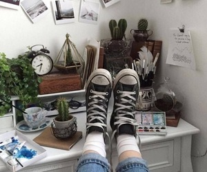 aesthetic, grunge, and converse image