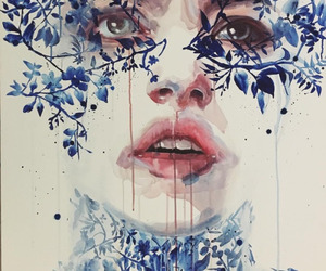 art, girls, and agnes cecile image