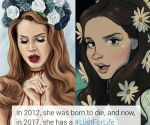 born to die, lust for life, and lana del rey image